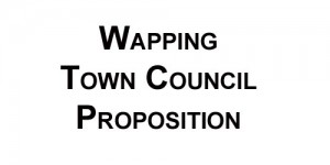 Wapping Town Council Meeting 8th September (updated)