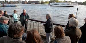 Ray Newton Shines a Light on the History of Wapping