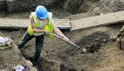 Wapping Roman heritage unearthed at Tobacco Dock