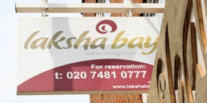 Laksha Bay Indian restaurant