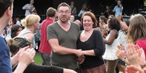 Wapping celebrates at the 9th July Summer Shindig