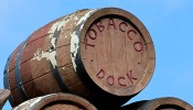 Tobacco Dock becomes home for Olympic troops