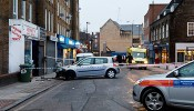 Hussey's Butcher hit by car in Wapping ice accident