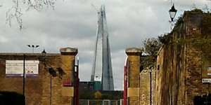 Photo of the week: The Shard from Wapping