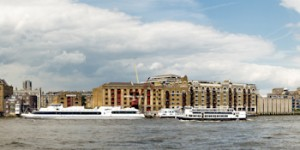 Photo of the week: Wapping riverside panorama (best viewed wide)