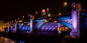 Dazzle: bridge illuminations until 10th September 2012