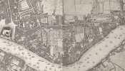 Roque Plan 1746 extract showing Wapping