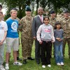 Tobacco Dock soldiers met Wapping residents & Mayor Lutfur Rahman
