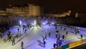 Tower of London ice rink – until 6th January