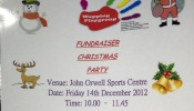 Wapping Playgroup Christmas Party fundraiser – 14th Dec 2012