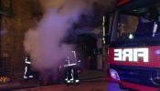 Fire at Dundee Court in Wapping High Street