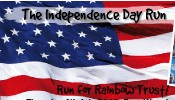 Independence Day Run for Rainbow Trust in Wapping – 4th July
