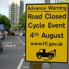 Ride London cycle event road closures for Wapping – 4th August