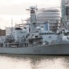 HMS Argyll arrives in London