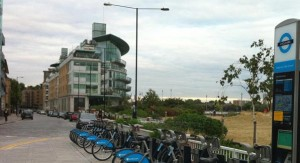 Barclays Cycle Hire Wapping
