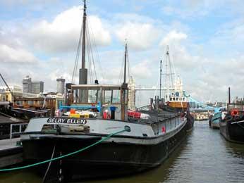 Hermitage Moorings Boat