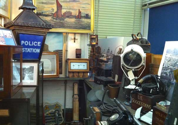 Image of Wapping Thames Police Museum Exhibits