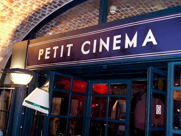 Secret Petit Cinema Tobacco Dock