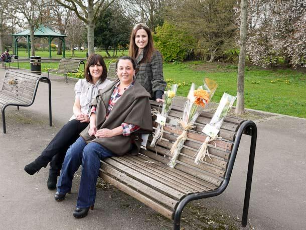 Memorial benches in King Edward Memorial Park