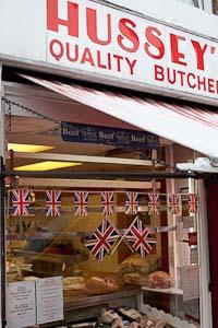 Husseys Butcher Wapping