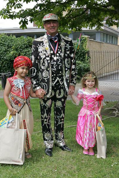 Children's Parade at Wapping Summer Shindig