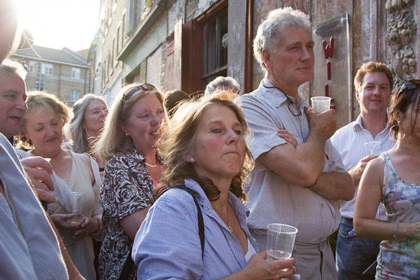 Image Friends of St Katherine Docks on a tour of Wilton's