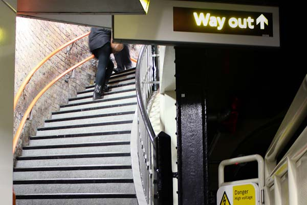 Image Wapping Overground steps