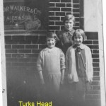 Green Bank, Wapping and the Turks Head: 1920's