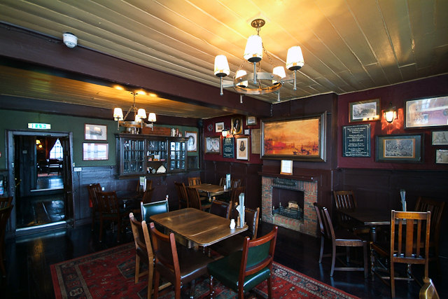 Image Pepys room at the Prospect of Whitby pub