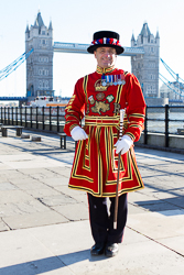 yeomen warder at the Tower of London aka Beefeater