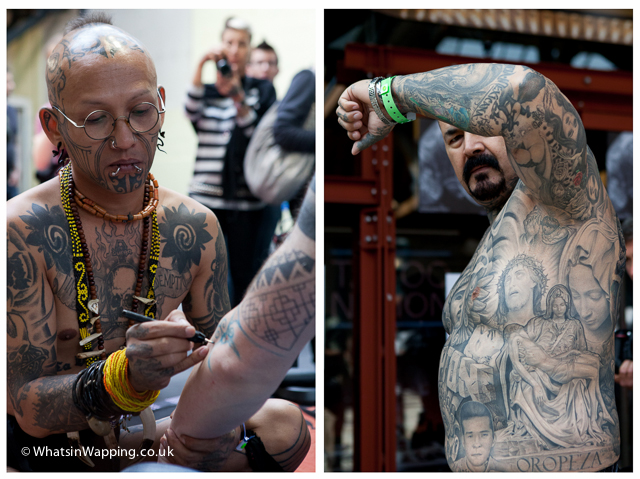 Tattoo Convention Wapping